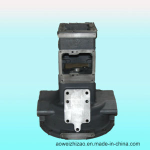 Customized Ductile Iron Casting Gearbox by Shell Casting, ISO 9001: 2008, Awkt-0003