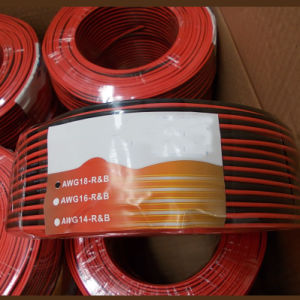 Hot Sale Copper Clad Aluminum Red and Black Speaker Cable pictures & photos