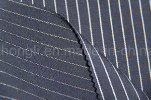Yarn Dyed, Striped T/R Fabric, 65%Polyester 32%Rayon 3%Spandex, 250GSM pictures & photos
