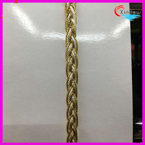 Width 1cm Metallic Yarn Weaving Trimming pictures & photos