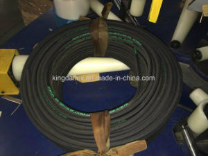 3000psi Steel Wire Reinforced Hydraulic Rubber Hose (SAE100r17) pictures & photos