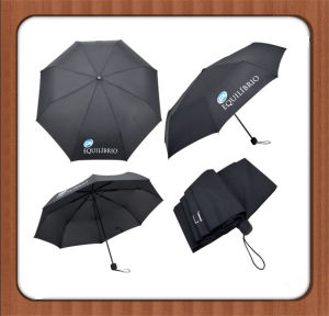 Good Quality Promotional 3 Folding Umbrella (BR-FU-27) pictures & photos