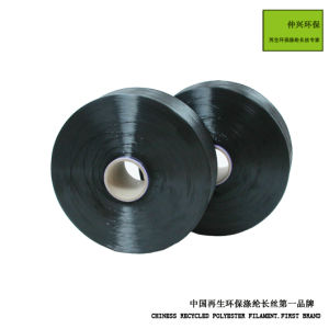 Recycled Environment Polyester Filament POY pictures & photos