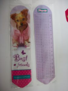 2015 New Arrival Plastic 3D Ruler with Dogs