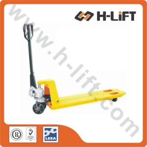 PT-Bfn Type Super Narrow Hydraulic Hand Pallet Truck pictures & photos