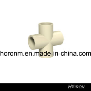 CPVC D2846 Water Pipe Fitting (CROSS TEE)