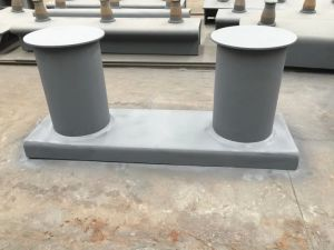 Marine Ship Type a Cast Iron/ Steel Mooring Bitt Double Bollard