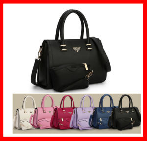 Fashion Elegent Gift Cheap Handbag Set 2PCS