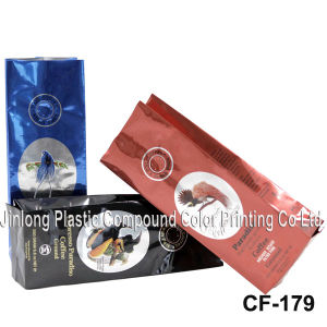 Quad Sealed Coffee Packaging Bag pictures & photos