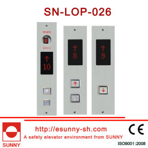 Display Panel for Elevator (SN-LOP-026) pictures & photos