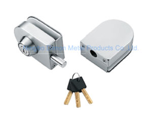 Dimon Sliding Glass Door Lock Double Door Single Cylinder Central Lock (DM-DS 65-3B)
