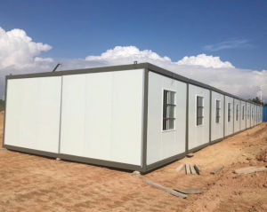 Mobile Folding Container Living House with High Quality Steel pictures & photos
