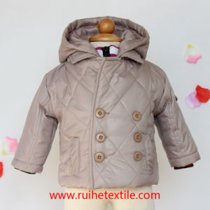 Winter Waterproof Windproof Breathable Woven Quilted Jacket / Coat for Kids
