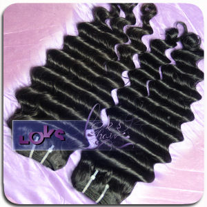 High-Quality Full Cuticle Water Wave Natural Virgin Russian Hair Weft
