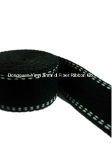 38mm/1.55mm Black Color Sewing Plain Ribbon pictures & photos