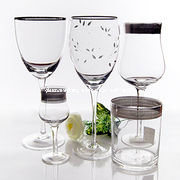 Hand Made Engraved Wine Glass (GJB-10) pictures & photos