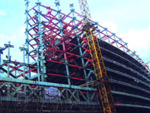 High Rise Steel Structure Building (HX12070402, have exported 200, 000 tons)