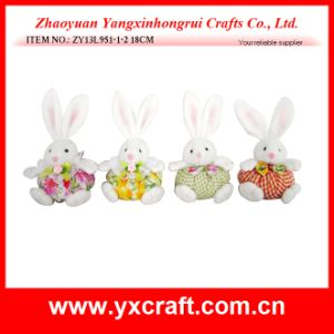 Easter Decoration (ZY13L951-1-2 18CM) Easter Home Party Decoration Bunny Toy pictures & photos