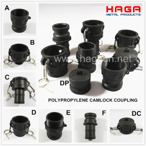 PP Cam Lock Coupling Quick Release Adapter pictures & photos