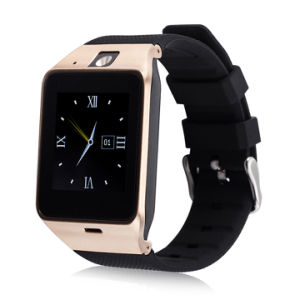 Smartwatch Gv18 Wearable Bluetooth Watch Support SIM Card Mobile GSM for Android