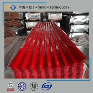 Red Corrugated Roofing Steel Sheet for Building Material pictures & photos