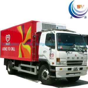 Refrigerated Truck Body for Ice Cream (FRP Sandwich Panel) (SY-01)