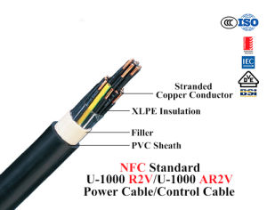 8.7/10kv Copper/Aluminium Conductor XLPE Cable with PVC Outer Sheath pictures & photos