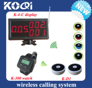 Wireless Bell System for Restaurant Service pictures & photos