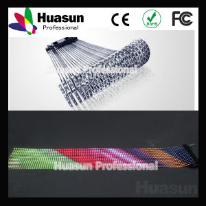 Silicone Rubber Transparent P20 Flexible Soft LED Curtain Display