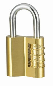 """V"" Type Heavy Duty Solid Brass Combination Padlocks (110404) pictures & photos"
