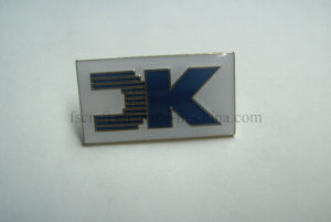 Die Struck Safety Pin Custom Name Badges