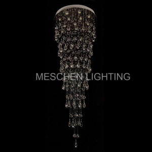 Raindrop Crystal Chandelier Modern Lighting Fixture