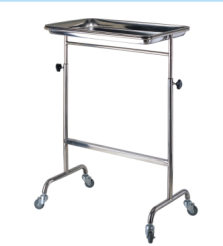 S. S Height Adjustable Instrument Trolley (SC-HF44) pictures & photos