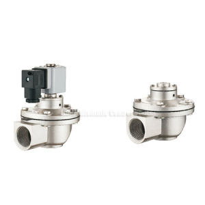 "DMF-Z Right Angle Solenoid Pulse Jet Valve DN20mm~102mm G3/4""~G4"""