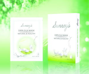 100% Natural Silk Sheet Facial Mask (KS006)
