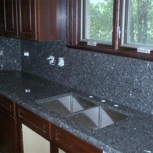 Customize Blue Pearl Granite Countertop