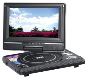 7 Inch Portable DVD Player DS79