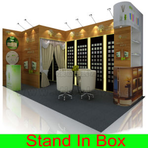 Modular Portable Re-Usable Versatile Aluminum Display Systems Exhibition Booth pictures & photos