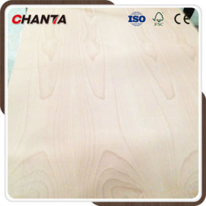 Africa Red Flower Grain Poplar Core Beech Plywood pictures & photos