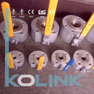 Forged Steel Wafer Ball Valve Thin Type Ball Valve