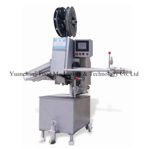 Aluminum Double Coil Sasuage Clipper Machine pictures & photos