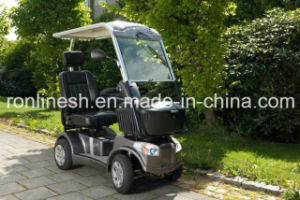 1200W Electric 4 Wheel Scooter/Mobility Scooter/Disabled Scooter/Handicapped Scooter W Top Roof/Canopy, Front Box CE pictures & photos