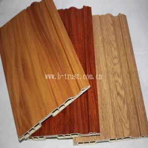 PVC Veneer Laminating on Kitchen Board pictures & photos