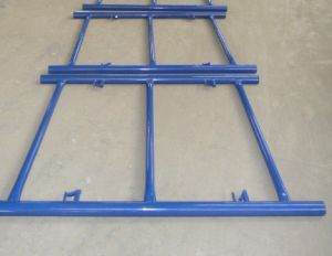 Shoring Frame Scaffolding Pink Powder Coated Canadian Lock High Quality pictures & photos