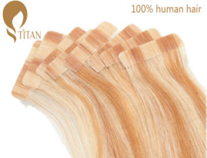 Piano Color Tape Brazilian Remy Human Hair Extension