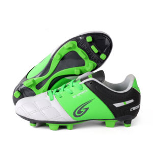 Football Sports Firm Natural Ground Soccer Shoes for Children (AKXF011) pictures & photos