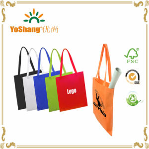 Promotion Colorful Reusable PP Printed Non Woven Tote Shopping Bag pictures & photos