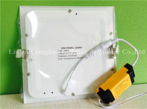 15W Round Square LED Sidelight Panel with Aluminum Housing pictures & photos