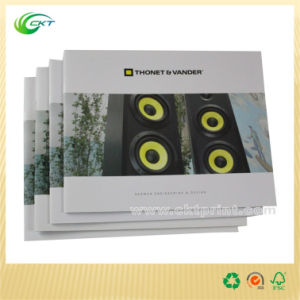 Cheap Catalog Booklet Brochure Printing with Saddle Stitching (CKT-BK-011)