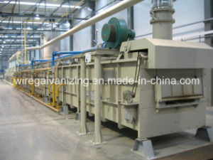 Singring Brand Open Fire Austenitization Furnace for Steel Wire pictures & photos